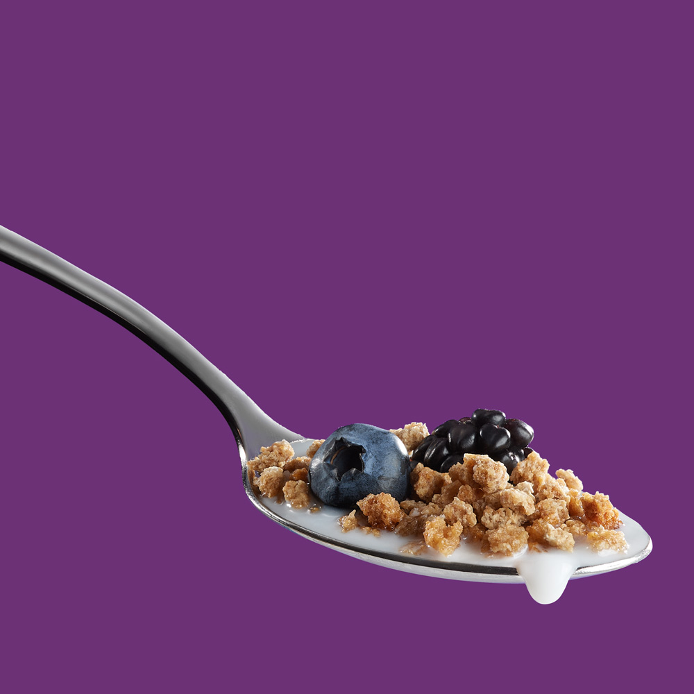 Cereal food photography for packaging - by Photography of and for Packaging