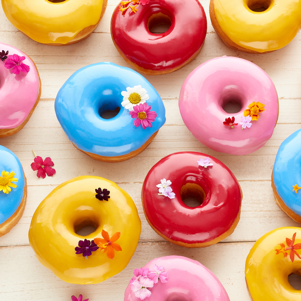 Vibrant food photography for bakeries - Hollis Conway Photography